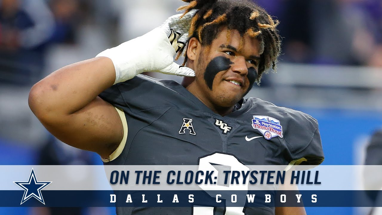 5 things you might not know about Dallas Cowboys DT Trysten Hill