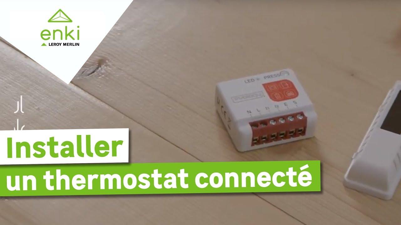 Installer Et Utiliser Le Kit Thermostat Connecté Avec Enki