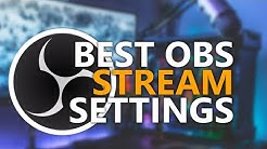 Best OBS Streaming Settings in 2020 - NO LAG with the new NVENC encoder