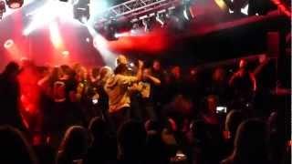 Cliteater - Daryl Rhea/Glory Hole (audience on stage) - live@Meh Suff Metalfestival Huettikon 8.9.12