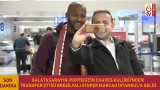 📽 Yeni transferimiz Marcao İstanbul'da! 🛬