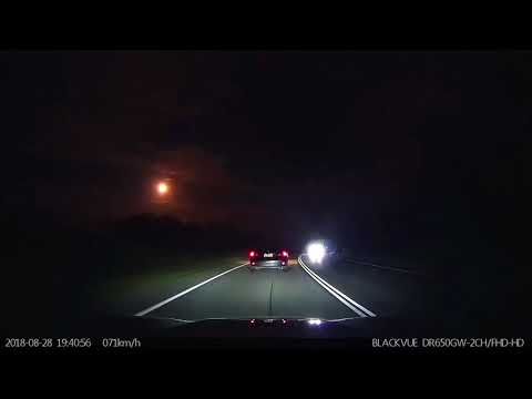JRDN - Dashcam Catches A Meteor Explode In Australia