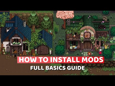 HOW TO ADD MODS TO STARDEW VALLEY 1.5 ✨ 2021 Full Basics Guide ✨ SMAPI, Content Patcher, Configure