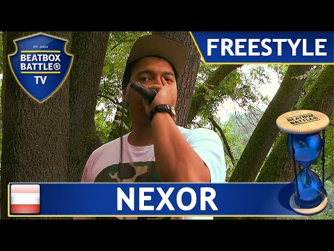 Nexor from Austria - Freestyle - Beatbox Battle TV