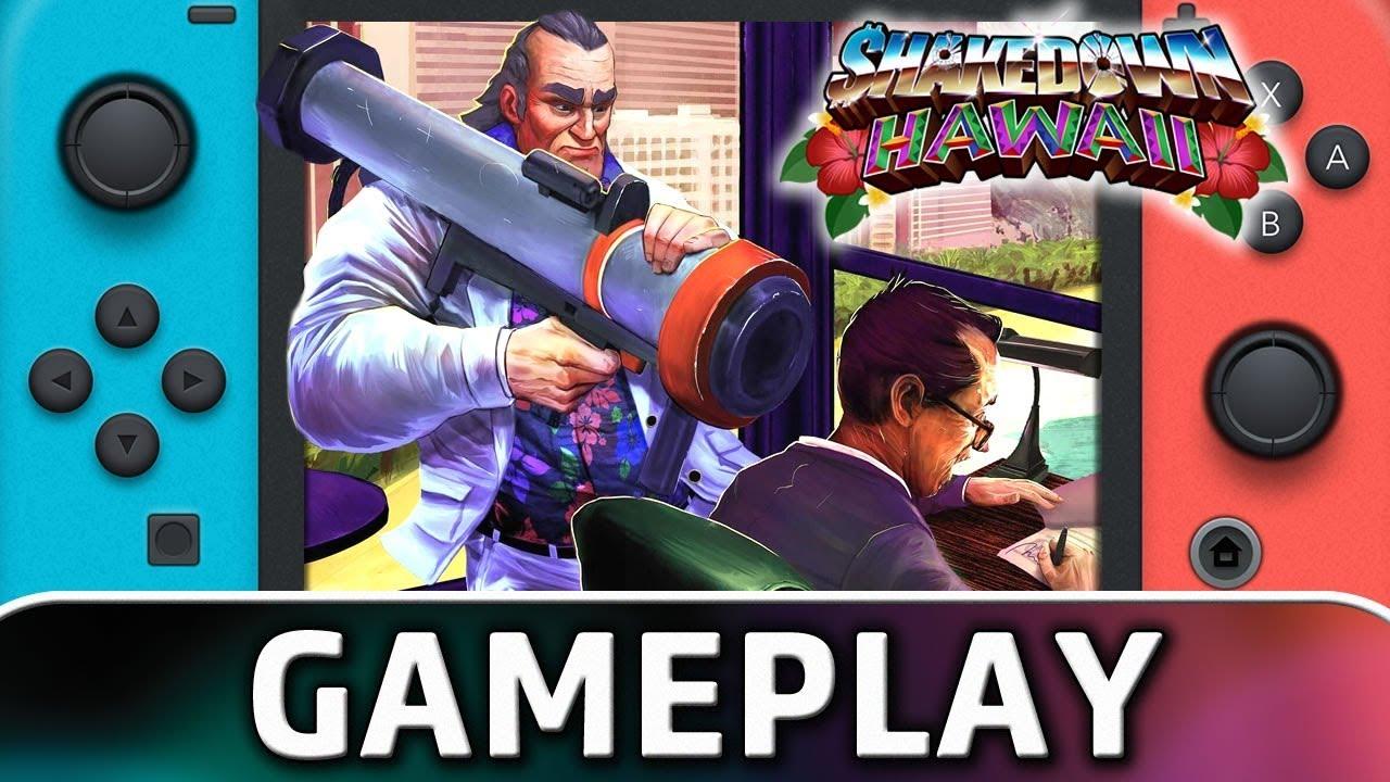 Nuevo gameplay de 10 minutos de Shakedown: Hawaii - Alfa Beta Juega