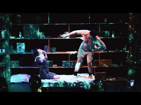 Спектакль «Дурочка и зэк» в театре Школа современной пьесы...