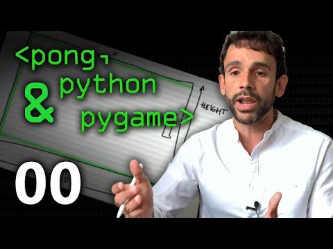 Pong, Python & Pygame 00 - Computerphile