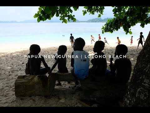 Papua New Guinea | Loloho Beach in Bougainville, PNG