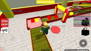 I'm being attacked by Spider-Man all the time but I kill him though. (Roblox super hero Tycoon)