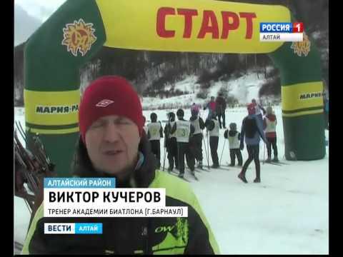 В селе Алтайском прошла большая лыжная гонка