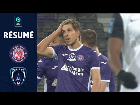 Toulouse Paris FC Goals And Highlights