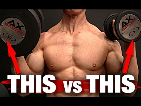 Heavy Weights vs Light Weights | Build Muscle (THE WINNER IS…)