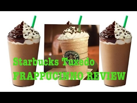 Starbucks Tuxedo Mocha Frappuccino Drink Review The Showstopper Shows