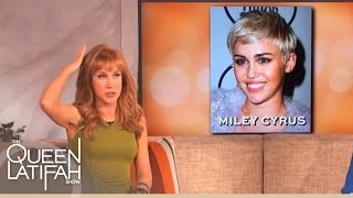 Kathy Griffin Tries to Be Nice to Celebrities ... Tries