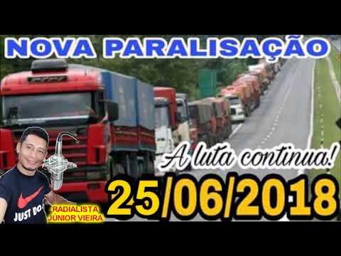 Nova Greve dos Caminhoneiros dia 25/6/2018
