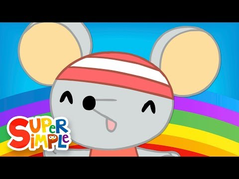 We All Fall Down | Nursery Rhymes | Super Simple Songs