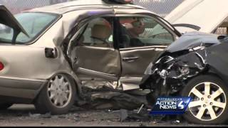 3-year-old girl paralyzed after icy crash on Rankin Bridge