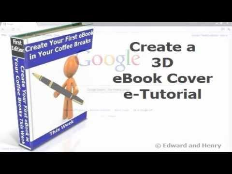 Create a 3D eBook Cover for Free (e-Tutorial) - YouTube