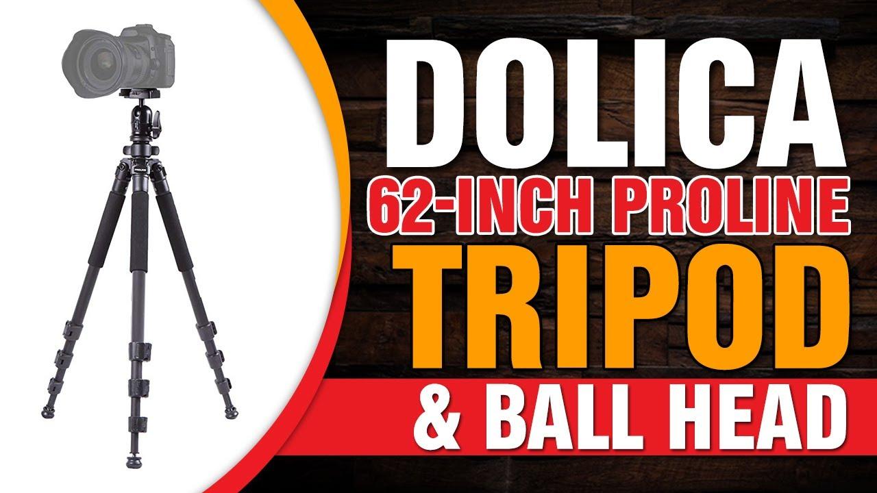 Dolica AX620B100 62-Inch Proline Tripod and Ball Head
