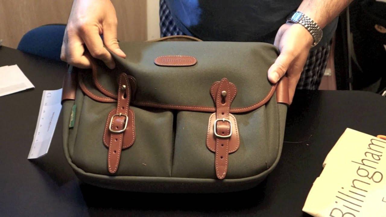 Billingham Hadley Pro Unboxing Youtube Shoulder Bag Khaki Chocolate Leather