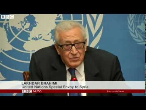 Syria talks  Lakhdar Brahimi apology for lack of progress 2