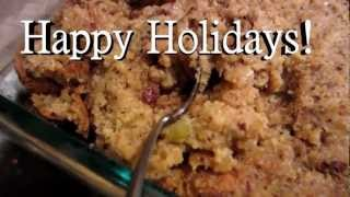 How To Make Really Good Cornbread Dressing / Stuffing From Scratch - Part 2 Of 2