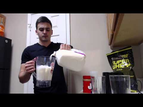 How To Make Really Good Protein Shake That Will Help You Build Muscle And Taste Good