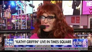 Kennedy Plays 'Kathy Griffin' with Jesse Watters in Times Square