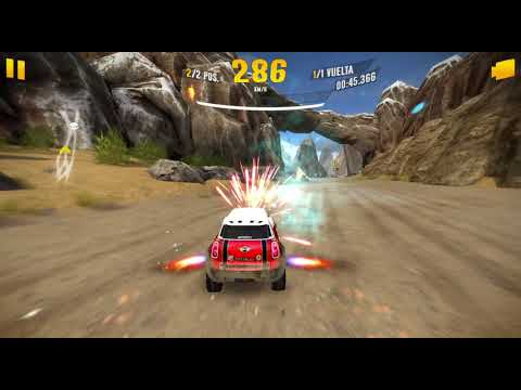 Asphalt Xtreme 13 02 2018 22 36 09 MP's Hymalayas mountains Mini All4Racing X Raid C47 vs Peugeot B5