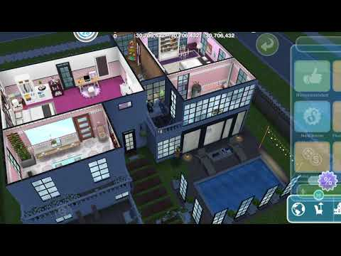BUILD A PATIO – DIY HOMES PEACEFUL PATIO – THE SIMS FREEPLAY