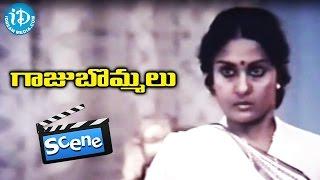 Gaaju Bommalu Movie Scenes - Swarajyam Tries To Kill Nutan Prasad    Gummadi    Sarath Babu