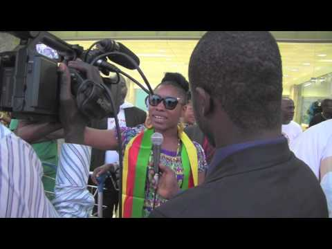 Cameroon Roots: Interviews at Douala Airport