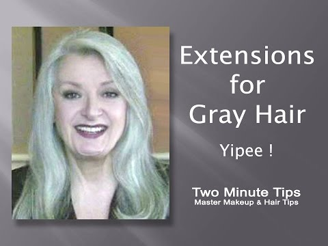 Extensions for gray hair yipee a youtube extensions for gray hair yipee a pmusecretfo Image collections