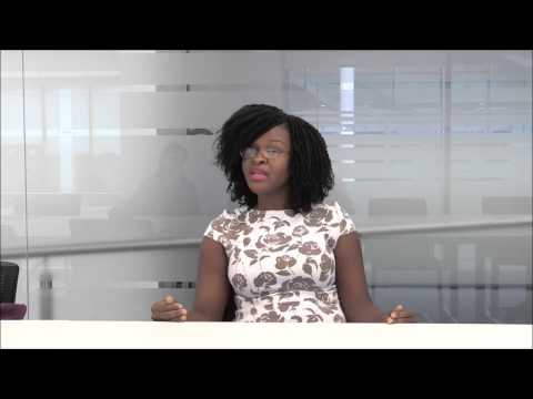 Haja Wurie speaks about Ebola in Sierra Leone