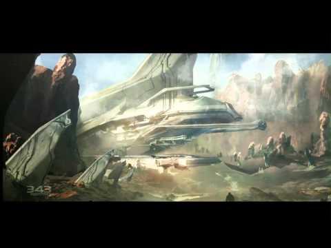 Halo 4 Concept Art Trailer
