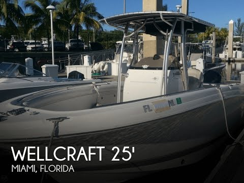 [SOLD] Used 2005 Wellcraft 252 Fisherman In Miami, Florida