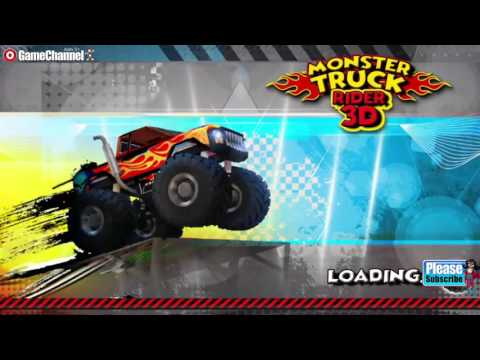 Monster Truck Rider 3D - Racing - Videos games for Kids - Girls - Baby Android