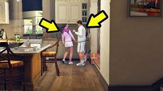شاهد ما حدث في قراند 5 عندما تركت زوجة مايكل أماندا مع مدرب التنس | GTA V