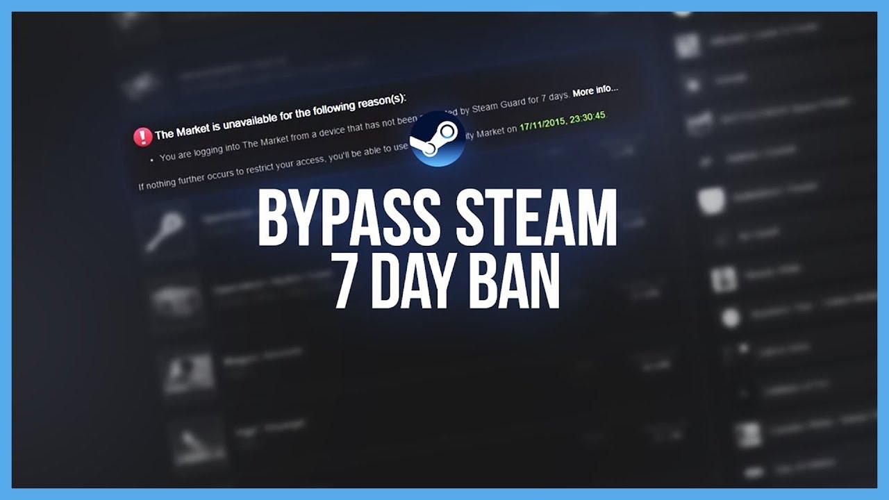 BYPASS STEAM 7 DAY TRADE BAN - Steam Tutorial