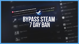 Steam Tutorial: 7 Day Trade Ban Bypass