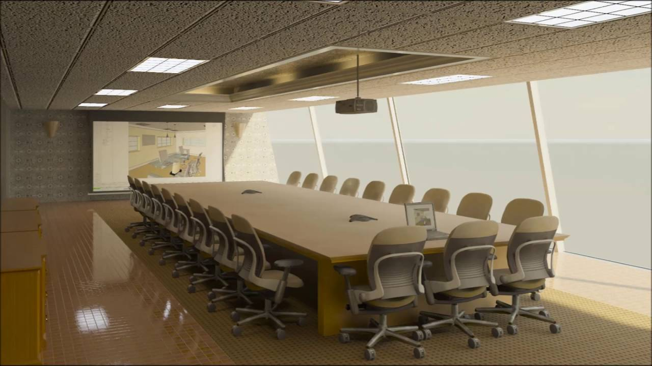 Meeting Room Design Ideas Part - 15: Modern Meeting Room Design - YouTube