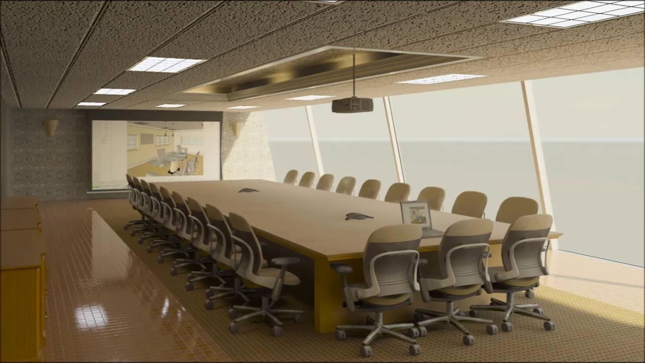 Modern Meeting Room Design - YouTube