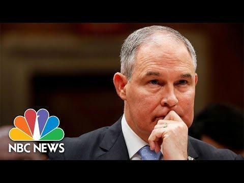EPA Chief Scott Pruitt Testifies On Budget | NBC News