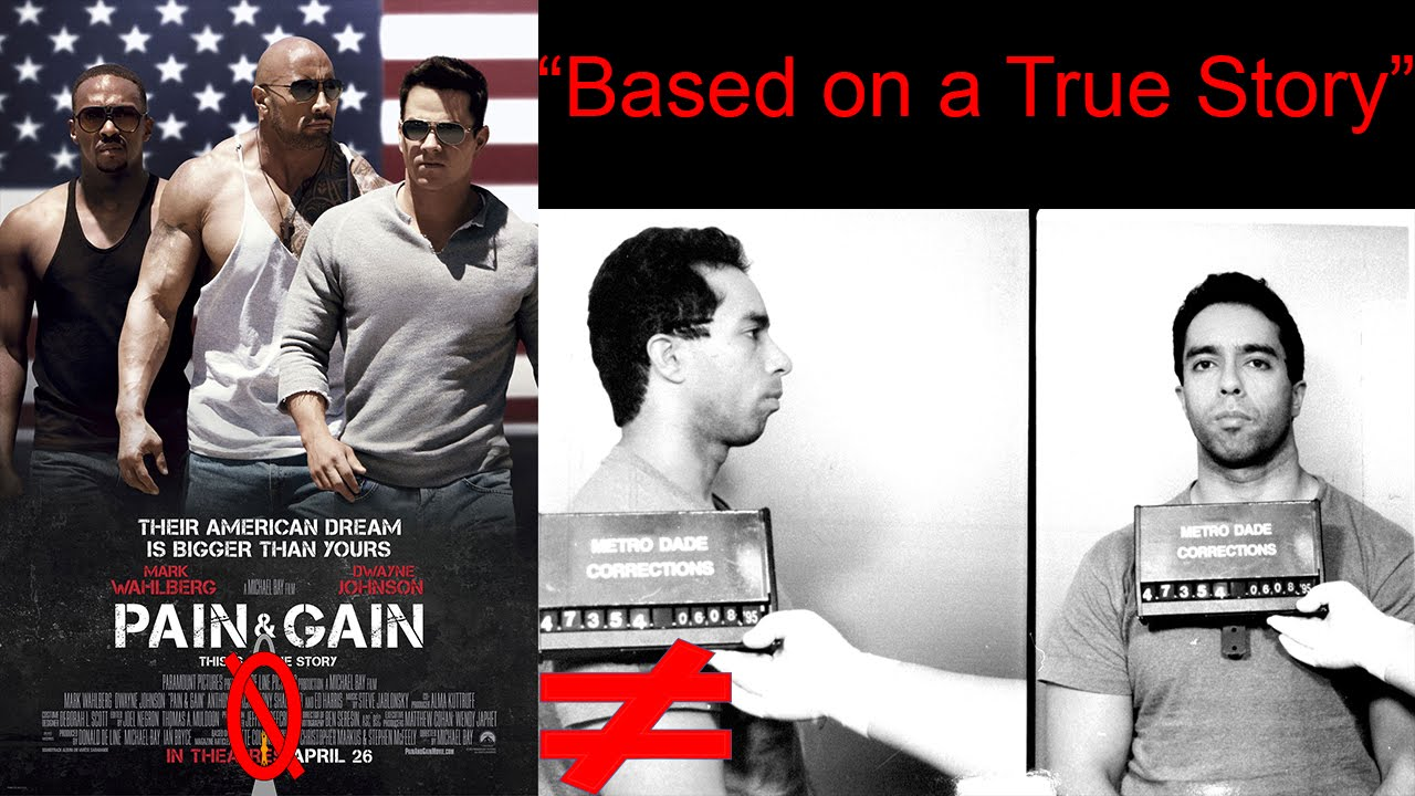 Pain & Gain  Based On A True Story