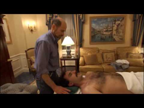 Borat    Gets A Massage    HQ - YouTube