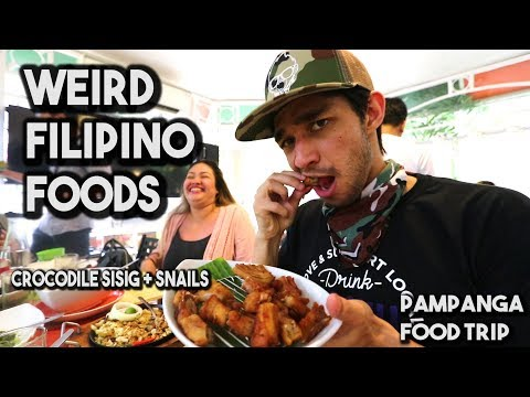 Pampanga Food Trip (Exotic Filipino Foods)