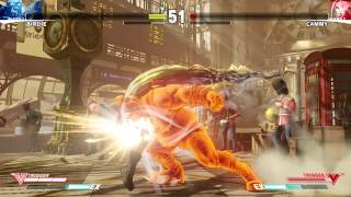 Street Fighter 5 - 25 Minutes Of Gameplay | E3 2015 (PS4/PC)