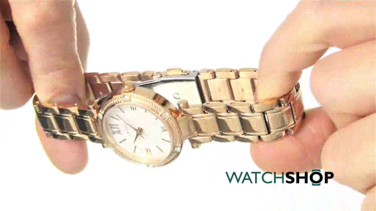 5772067c59f0 Guess Ladies  Park Ave South Watch (W0767L3) - YouTube