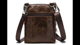 Обзор маленькой мужской сумки WESTAL