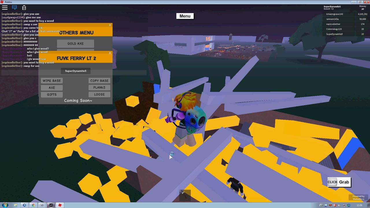 New Version 3 5 Insane Lt 2 Ferry Script Op Lumber Tycoon 2 - new roblox hackscript lumber tycoon 2 copy base instant blueprint dupe everything more